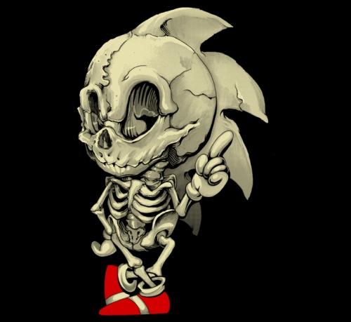 sonic_skelett