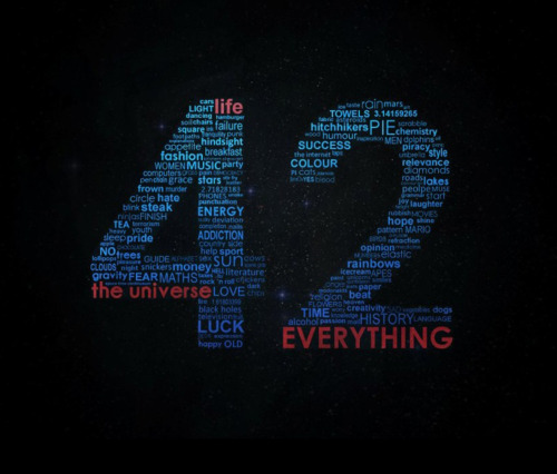 the life of 42 The almighty answer to the meaning of life, the universe, and everything it was  calculated by the computer deep thought for seven million years and when.